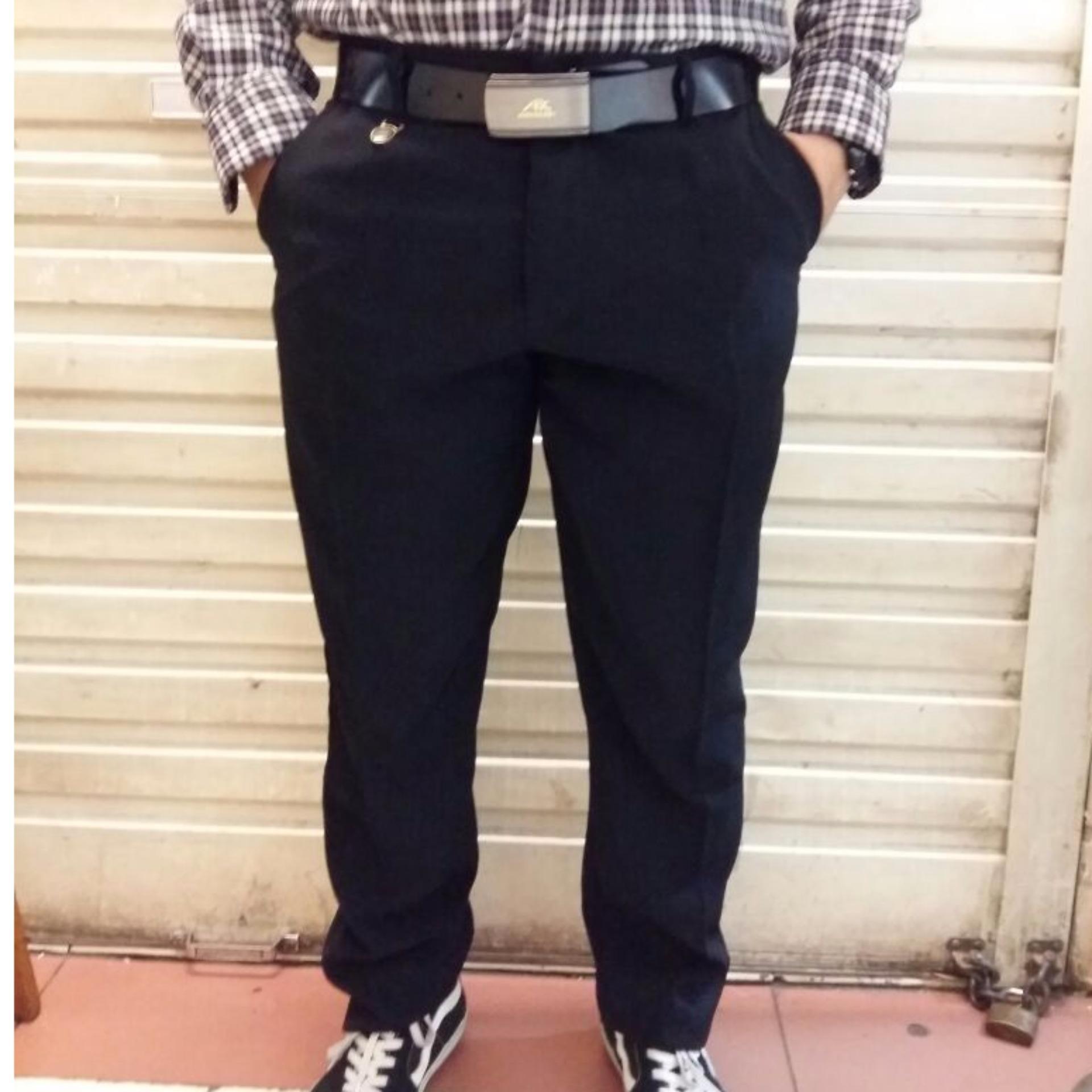 Berapa Harga Celana Formal Pria Slimfit Twis Hitam Celana Kerja Pria Slimfit Twis 27 38 Excellen Slimfit Di Indonesia