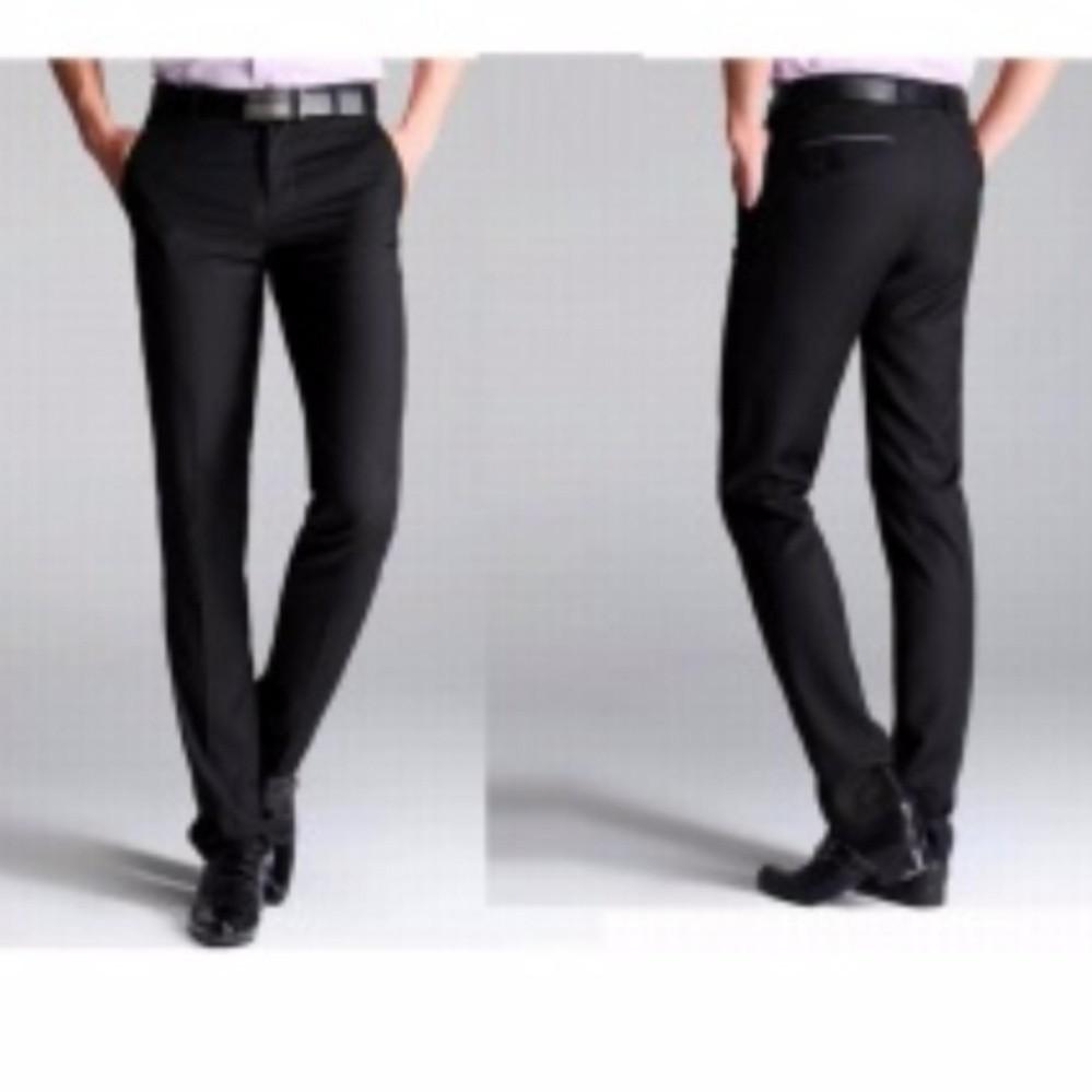 Ulasan Lengkap Tentang Celana Formal Pria Slimfit Wol Hitam Celana Kerja Pria Slimfit Wol 28 38