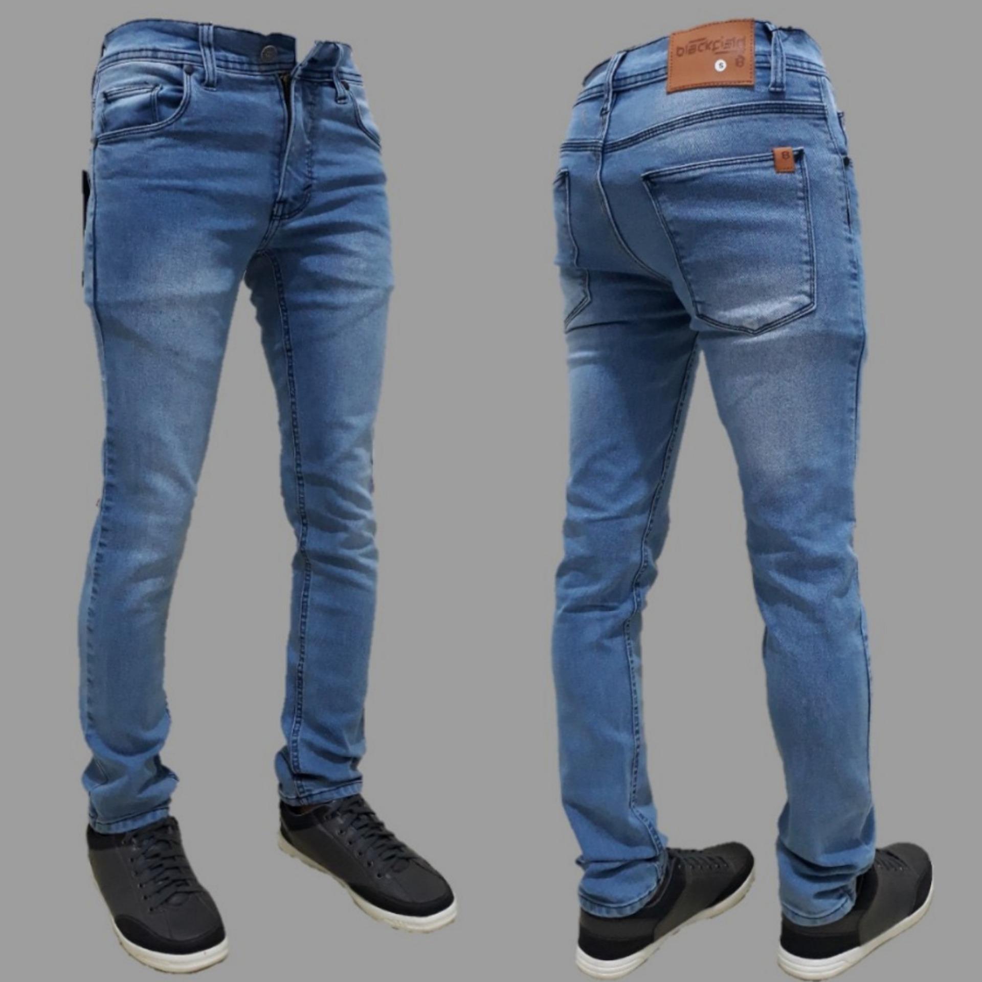 Celana jeans pria / jeans skinny / jeans pensil / jeans slim fit pria