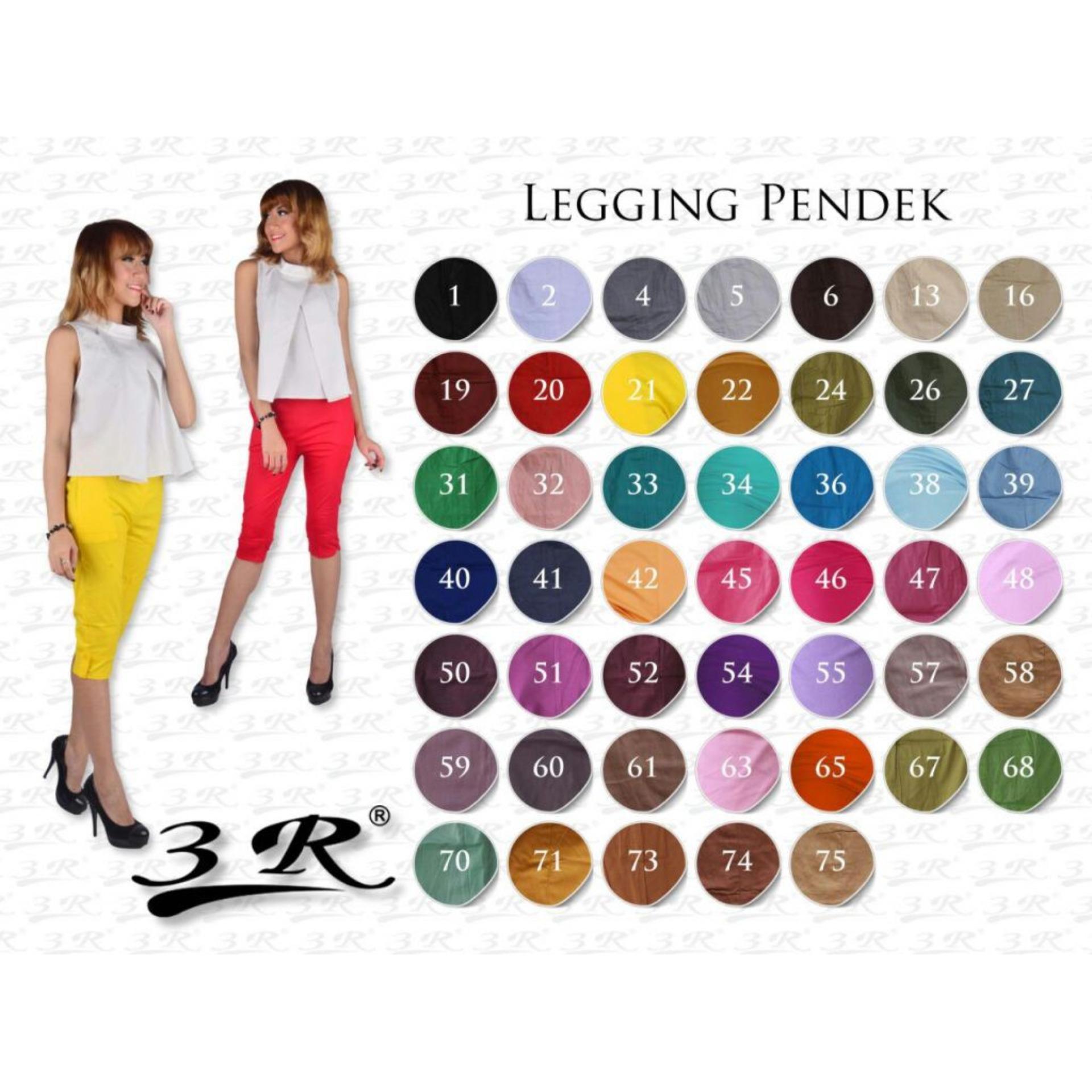 Toko Celana Katun 7 8 3R Celana Murah Laging Legging Celana Wanita Legging