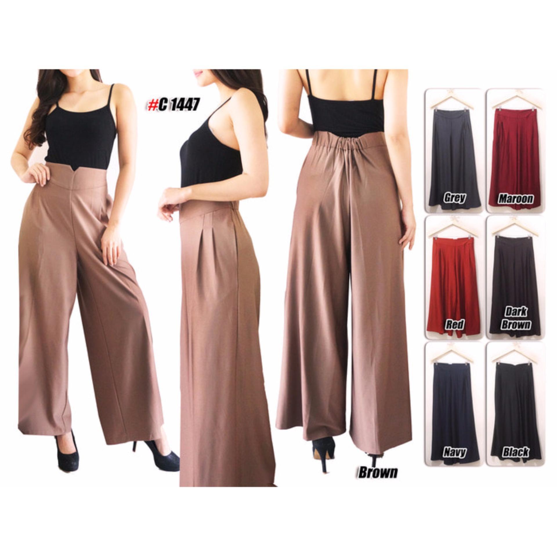 Review Celana Kulot Posey Celana Panjang Long Pants Celana Wanita