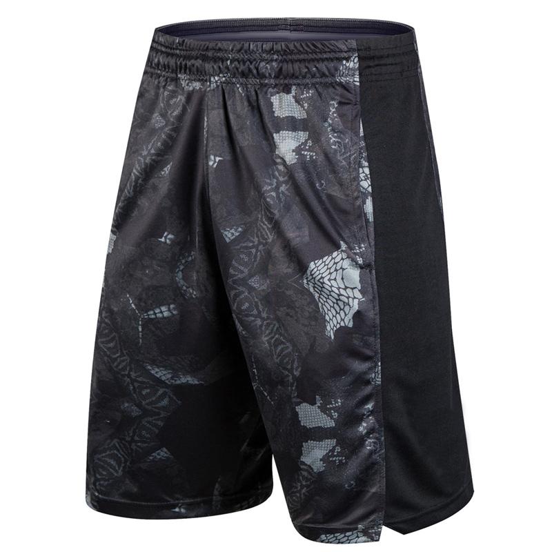 Jual Celana Longgar Pria Di Bawah Lutut Basket Latihan Kb Serpentine Hitam Dan Abu Abu Grosir
