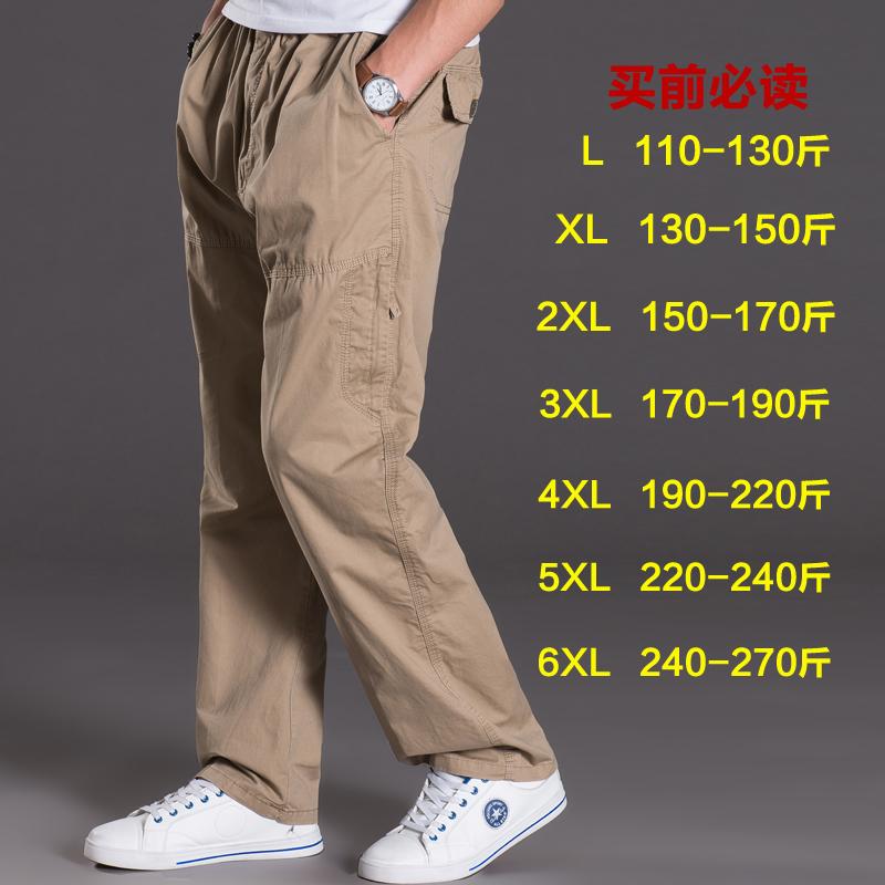 Tips Beli Pria Ukuran Besar Celana Kasual Celana Jeans Lurus Longgar Lampu Kuning