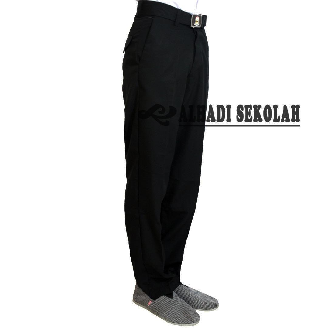 Harga Termurah Celana Panjang Hitam Sekolah Smp Dan Sma Ukuran 27 S D 33 Celana Seragam Sekolah Cph001 01
