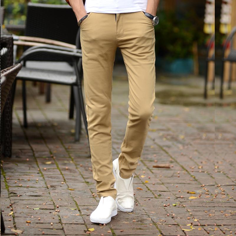 Toko Celana Panjang Pria Elastis Lurus Membentuk Tubuh Khaki Terlengkap