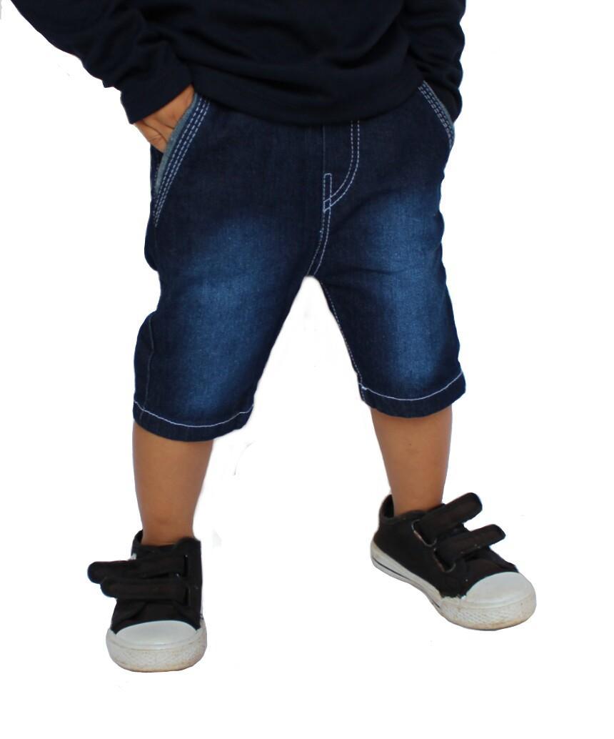 celana pendek anak laki laki bahan jeans