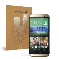 Celicious Vivid HTC One (M8) Invisible Screen Protector [paket 2]-Intl