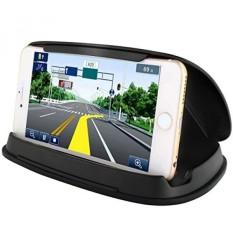 Ponsel Penahan untuk Review Mobil, Mobil Telepon Dudukan untuk iPhone 7 Plus, dasbor GPS Penahan Pemasangan Pada Kendaraan Anda Samsung Galaksi S8, AND Lainnya 3-6.8 Inch Universal Ponsel Pintar atau GPS-Hitam-Internasional