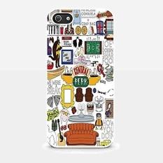 Central Perk Teman Fan Art untuk IPhone dan Samsung Galaxy Case (iPhone 5/5 S Putih) -Intl