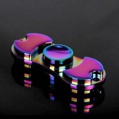Jual Keramik Beads Tri Spinner Plastic Edc Tangan Dan Adhd Fidget Spinner Long Time Anti Stress Toys Intl