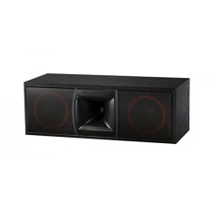 Cerwin-vega XLS-6C 2-Way Home Audio Center Channel Speaker (Masing-masing, HITAM)-Intl