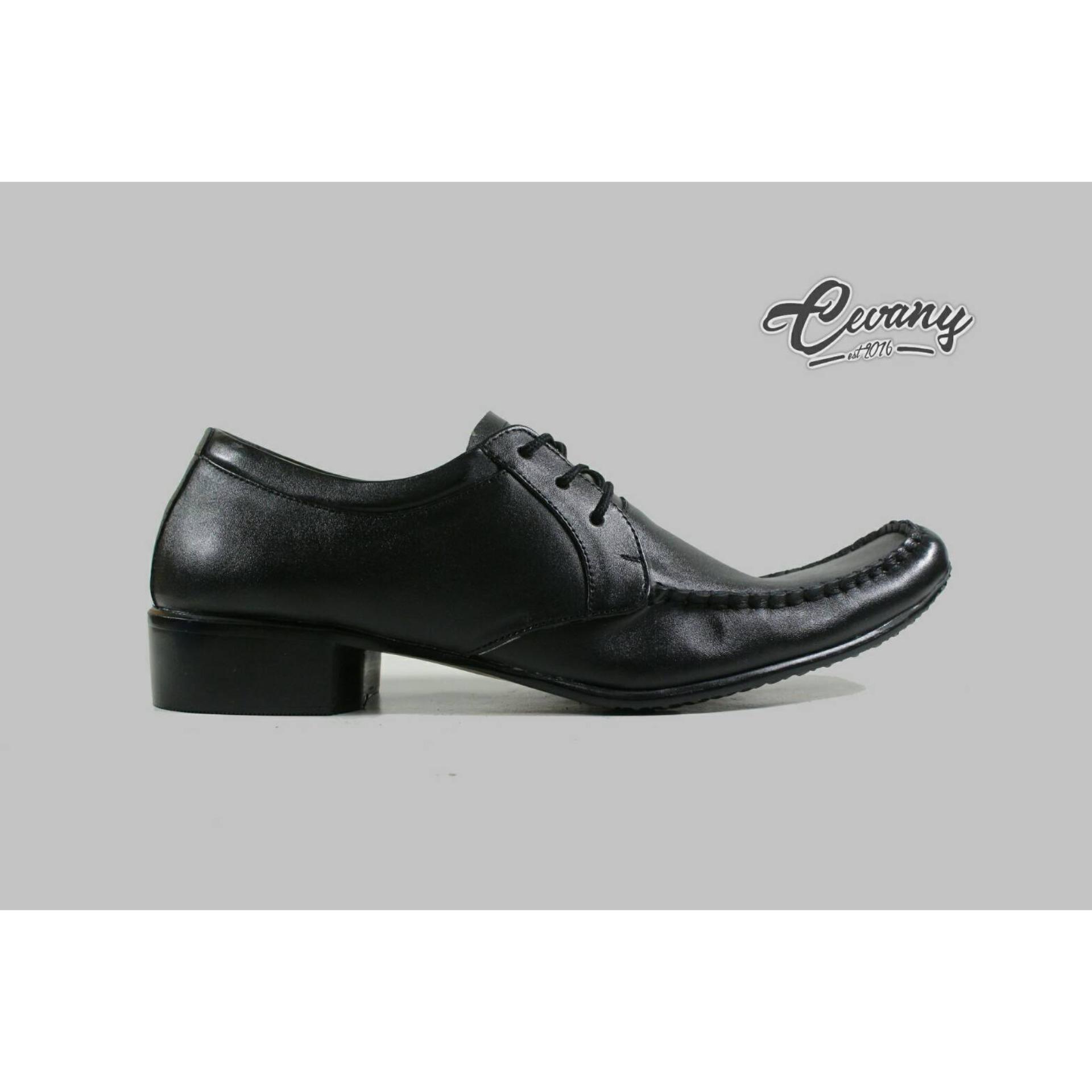 Rp 239.500 cevany footwear leather shoes man casual formal busines elegan vintage sepatu pantofel kulit asli ...