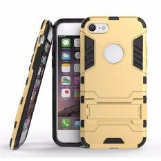 Chanel Case iPhone 5 Transformer Robot Casing Iron Man - Gold(Gold)