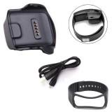 Harga Charge Dock Untuk Samsung Galaxy Gear Fit R350 Watch Cable Wrist Strap Bk Intl Oem Original