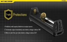 Spesifikasi Charger 1 Slot Baterai 18650 Nitecore Universal Battery For Li Ion F1 Dan Harganya