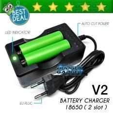 Charger Baterai 18650 Dual Battery 2 Slot A Cc 02 Asli