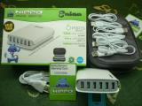 Jual Charger Hippo Enina 6 Ports Value Pack