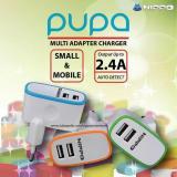 Toko Charger Hippo Pupa 2 Port 2 4A For Iphone Xiaomi Samsung Lenovo Murah Indonesia