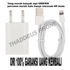 Jual Charger Iphone For Iphone 5G 5S 5C 6 6S 6S 6 7 7 Original 100 Apple Ori