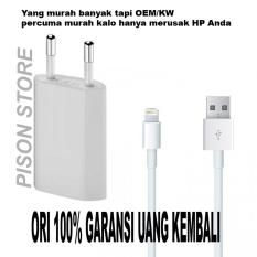 Beli Charger Iphone Original 100 For Iphone 5 5S 5C 6 6S 6 7 7 Nyicil