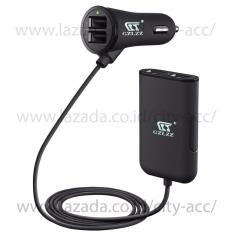 Charger Mobil / Mobile Charger 4 Port USB ( 2,4A & 4,8A  ) - Black