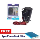 Charger Motor Waterproof Cas Hp Di Motor Free Powerbank Slim Asli