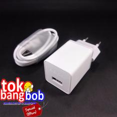 Cara Beli Charger Oppo Original Travel Adapter Charger Head With Cable Micro Usb White