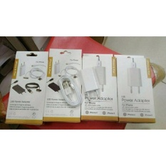 Charger TC Adaptor Iphone 5 dan 6 Kwalitas Bagus - Foto Asli..