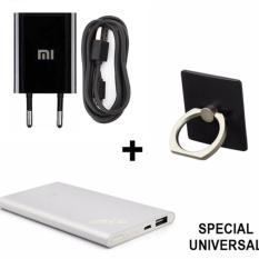 Katalog Charger Xiaomi Original 100 Travel Adapter Charger Ring Stant Powerbank Slim Paket Universal For All Type Hp Xiaomi Terbaru