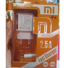 Charger Xiaomi Redmi Type C 2 USB 2,5A Fast Charger Original by Smart Charger