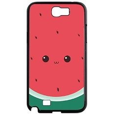 Cheap Case Cover for Samsung Galaxy Note 2 N7100,Watermelon phone case,DIY Cell Phone Case with Cute. - intl