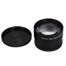 Chechang Kecepatan Tinggi Lensa Telefoto untuk AF-S DX Nikkor 18-55 Mm AF-S 55-200 Mm Nikon (Hitam) -Intl