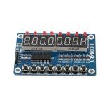 Spesifikasi Cheer 1 Pc 8 Bit Digital Led Tube 8 Bit Tm1638 Tampilan Kunci Modul Untuk Avr Arduino Baru Intl Baru
