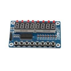 Cheer 1 Pc 8 Bit Digital Led Tube 8 Bit Tm1638 Tampilan Kunci Modul Untuk Avr Arduino Baru Intl Promo Beli 1 Gratis 1
