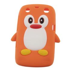 CHEER 3D Penguin Shape Silicone case cover for Blackberry 9360 /9350 /9370/Curve PT169 - intl