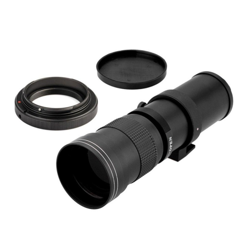Jual Cheer 420 800Mm F 8 3 16 Super Telephoto Manual Zoom Lens T Mount Untuk Canon Eos Dslr Intl Tiongkok