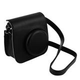 Cheer Leather Case Bag Untuk Polaroid Foto Kamera Hitam Diskon Tiongkok