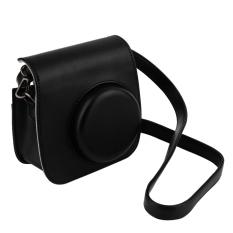 Beli Cheer Leather Case Bag Untuk Polaroid Foto Kamera Hitam Lengkap