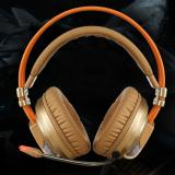 Beli Cheer Siberia V10 Gaming Headset Headphone Stereo Dikelilingi Dengan Mikrofon Headset Emas Intl Seken