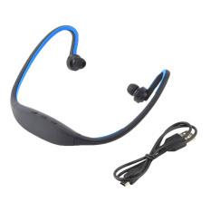 Handsfree Stereo Bluetooth Pengadaan Semangat Olahraga Headset Headphone Untuk Iphone Handphone Biru Murah