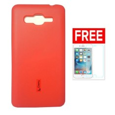 Cherry Silicon Case  Blackberry Tour / 9630 - Merah