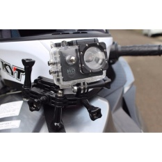 Chin Mount Motorcycle Helmet Full Face Motovlog For GoPro Xiaomi Yi Brica Bpro SjCam Kogan Eken Bcare Sport HD