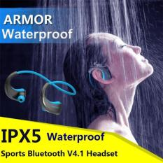 China Merek Telepon Kepala DACOM Baja G06 Bluetooth V4, 1 Earphone Nirkabel IPX5 Lewat Headset Sport Waterproof Anti-keringat Telinga-kait Lari Telepon Kepala With Mikrofon- Internasional
