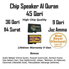 Chip Speaker Murottal Al Quran Micro sd 16gb