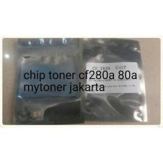 CHIP TONER CF280A 80A PRINTER LASERJET PRO 400 M401D 400MFP M425DW DN