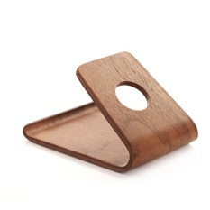 Chongqing Portable New Wooden Cell Phone Stand Or Cell Phone Holder For All Kinds Of Brand Cell Phone ( White Birch Color) - intl