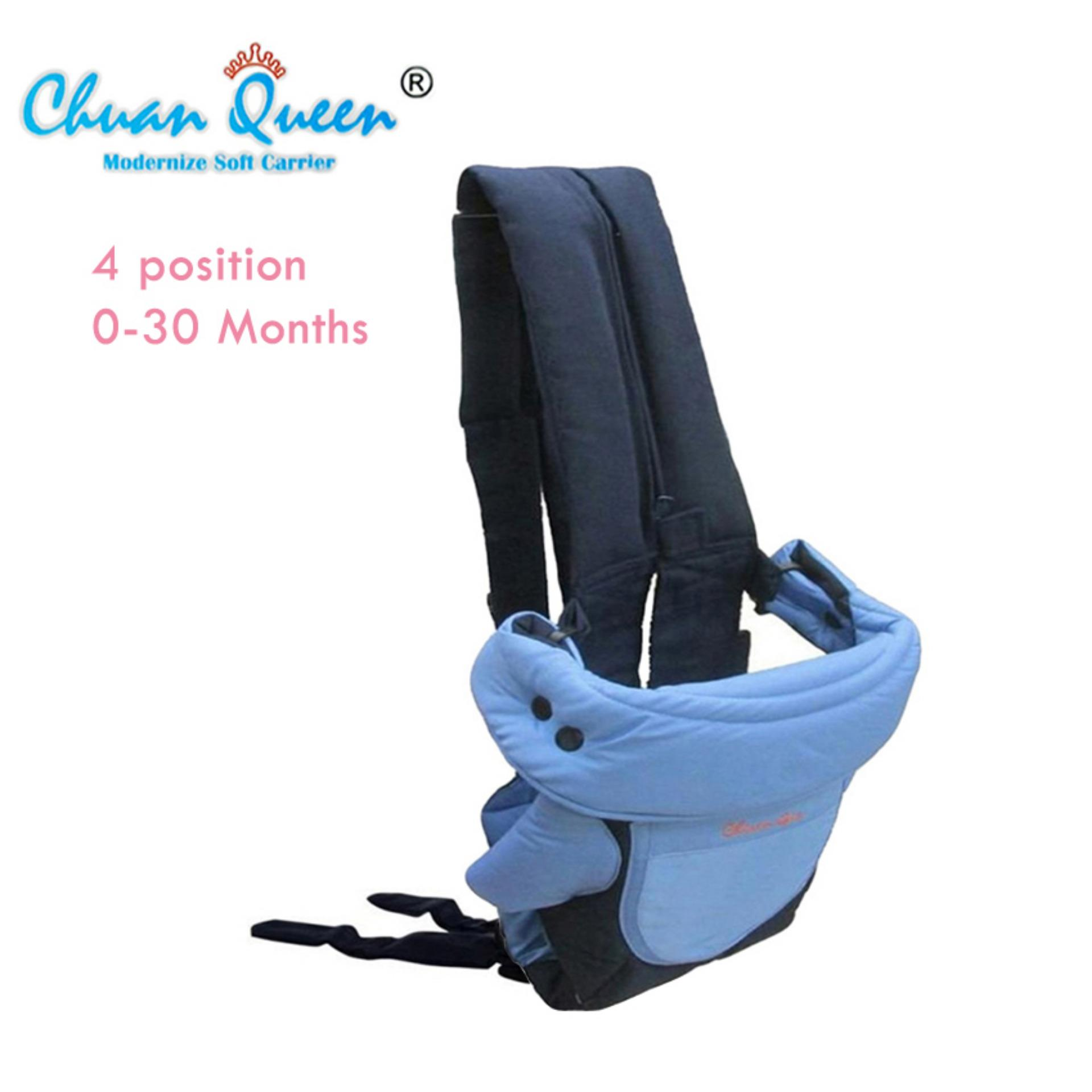 Chuan Queen Baby Carrier 4 In 1 Gendongan Bayi Biru Asli
