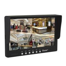Chunnuan 7 Inch 16:9 HD 4 Split Quad Display Video Otomatis Mengidentifikasi 4 Video Sinyal Input TFT LCD Car Rear View Monitor DVD VCR Kamera GPS Sun Visor Monitor-Intl