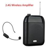 Toko Jual Chunzao Aporo T9 Wired Portable Speaker Suara Amplifier 2 4G Nirkabel Mic Speaker Untuk Instruktur Pelatihan Rapat Pariwisata Hitam Intl