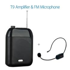 Spesifikasi Chunzao T9 Wired Portable Speaker Suara Amplifier Fm Wireless Speaker Mikrofon Untuk Pemandu Wisata Guru Hitam Intl Oem